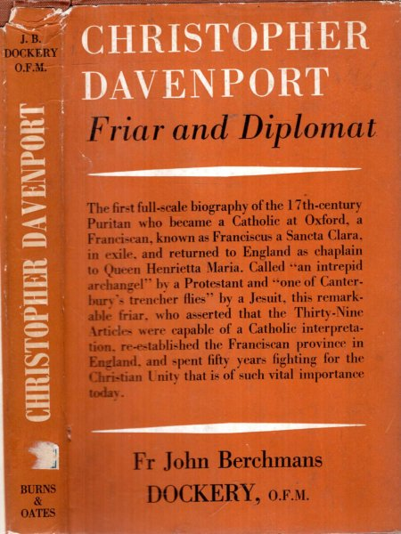 Image for CHRISTOPHER DAVENPORT, friar and diplomat