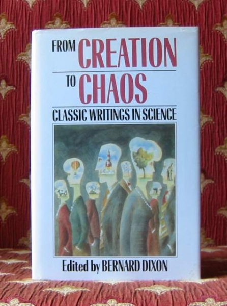 Image for FROM CREATION TO CHAOS, classic writings in science