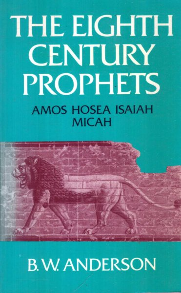 Image for THE EIGHTH CENTURY PROPHETS