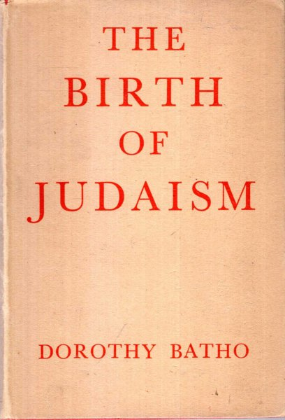 Image for THE BIRTH OF JUDAISM