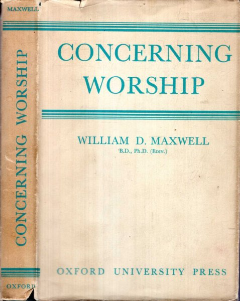 Image for CONCERNING WORSHIP