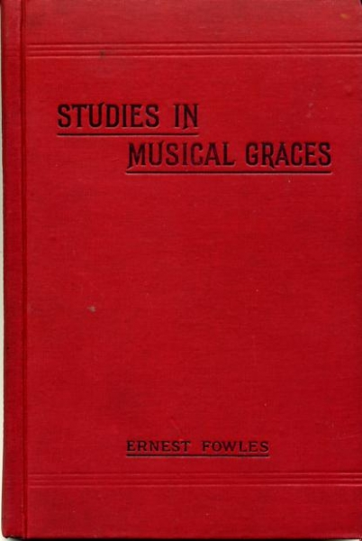 Image for STUDIES IN MUSICAL GRACES