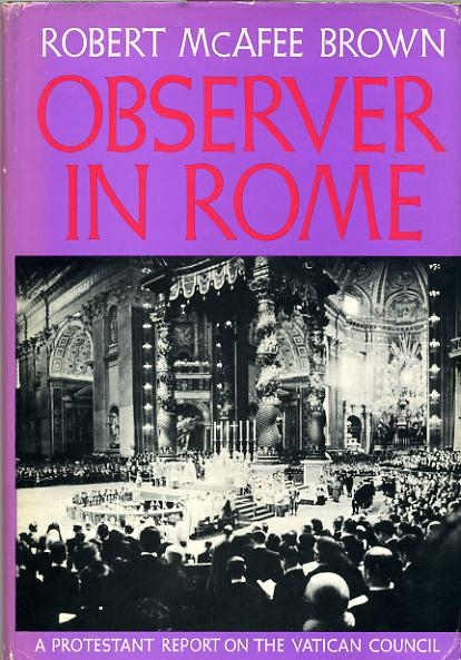 Image for OBSERVER IN ROME, a protestant report on the Vatican Council