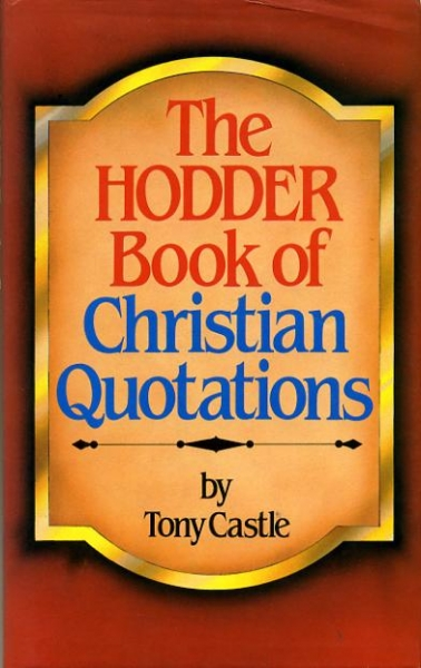 Image for THE HODDER BOOK OF CHRISTIAN QUOTATIONS
