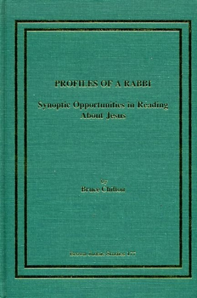 Image for Profiles of a Rabbi : Synoptic opportunities in reading about Jesus
