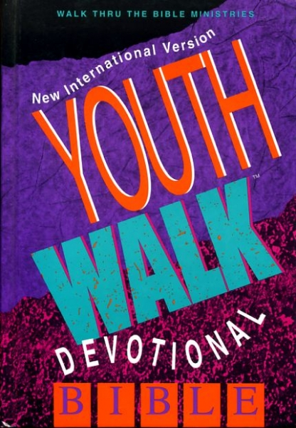 Image for THE HOLY BIBLE, YOUTHWALK DEVOTIONAL BIBLE, New International Version