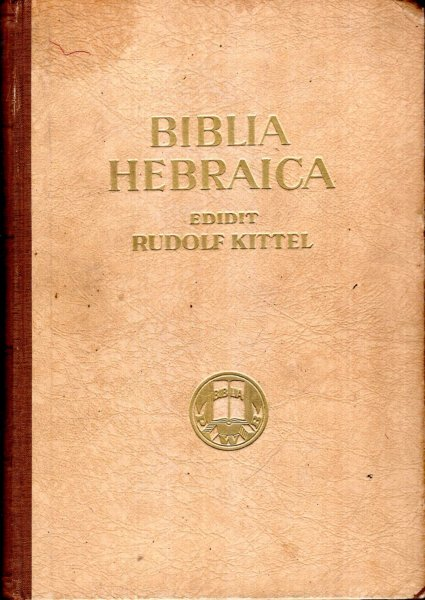 Image for BIBLIA HEBRAICA (two volumes)