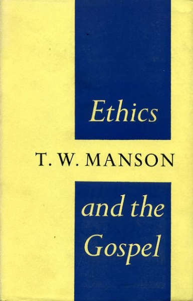 Image for ETHICS AND THE GOSPEL