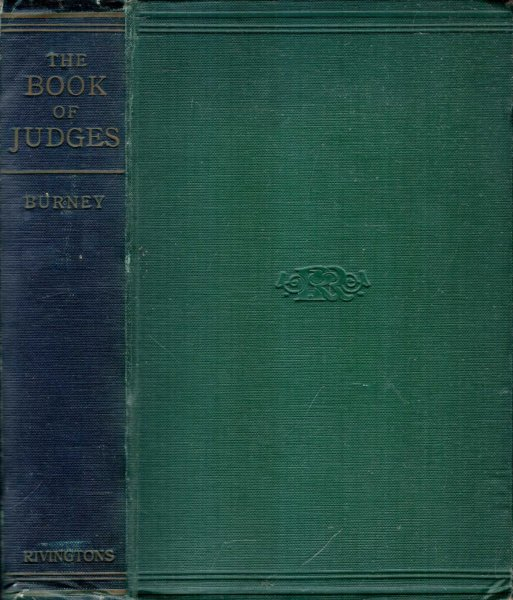 Image for THE BOOK OF JUDGES with introduction and notes