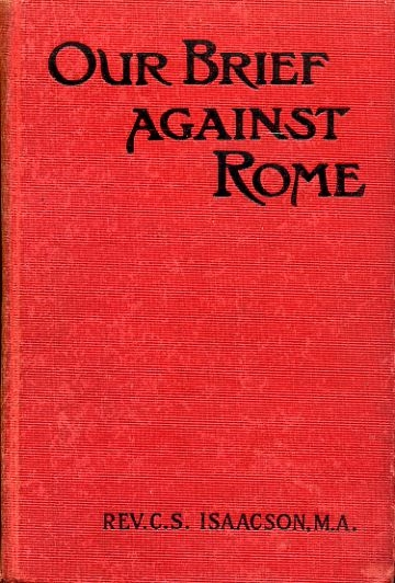 Image for OUR BRIEF AGAINST ROME
