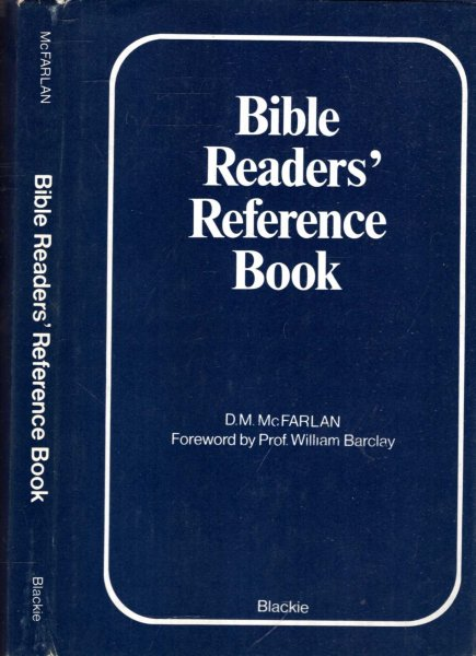 Image for BIBLE READERS' REFERENCE BOOK