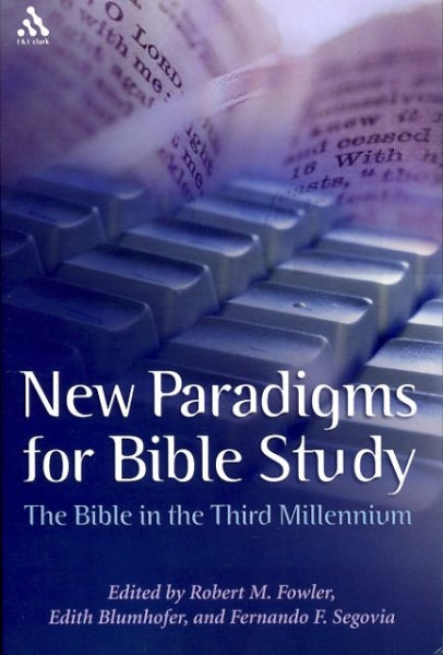 Image for NEW PARADIGMS FOR BIBLE STUDY The Bible in the Third Millennium