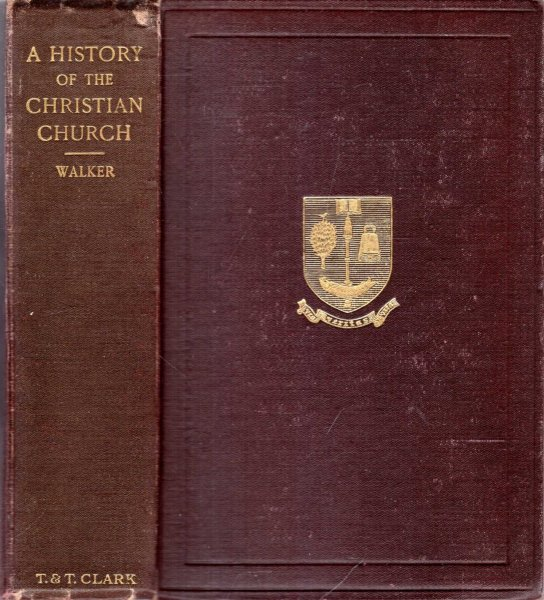 Image for A HISTORY OF THE CHRISTIAN CHURCH