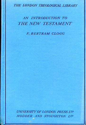 Image for AN INTRODUCTION TO THE NEW TESTAMENT