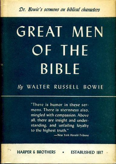 Image for GREAT MEN OF THE BIBLE