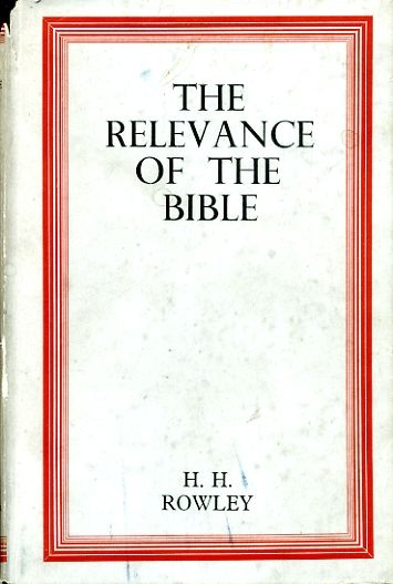 Image for THE RELEVANCE OF THE BIBLE