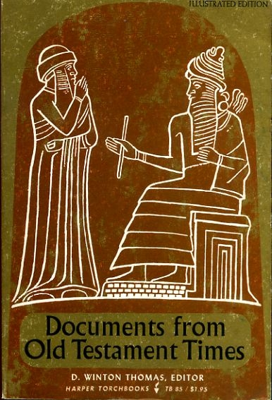 Image for DOCUMENTS FROM OLD TESTAMENT TIMES
