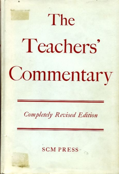 Image for THE TEACHERS' COMMENTARY