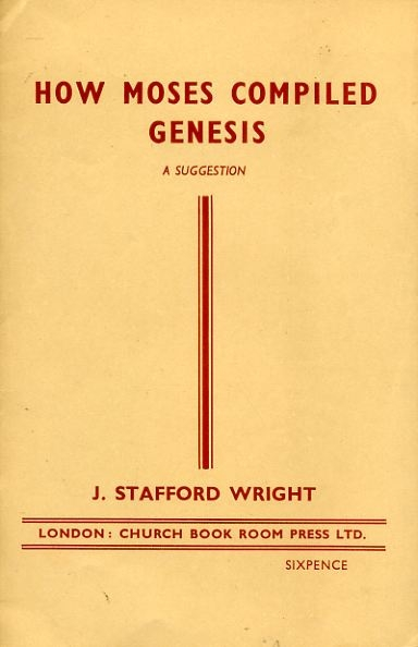 Image for HOW MOSES COMPILED GENESIS a suggestion