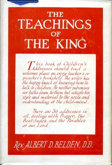Image for THE TEACHINGS OF THE KING