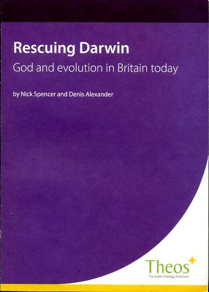 Image for RESCUING DARWIN God and Evolution in Britain today