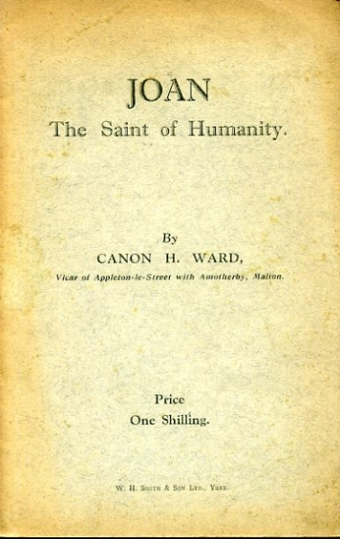 Image for JOAN the Saint of Humanity