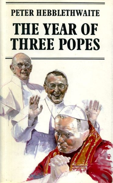 Image for THE YEAR OF THREE POPES