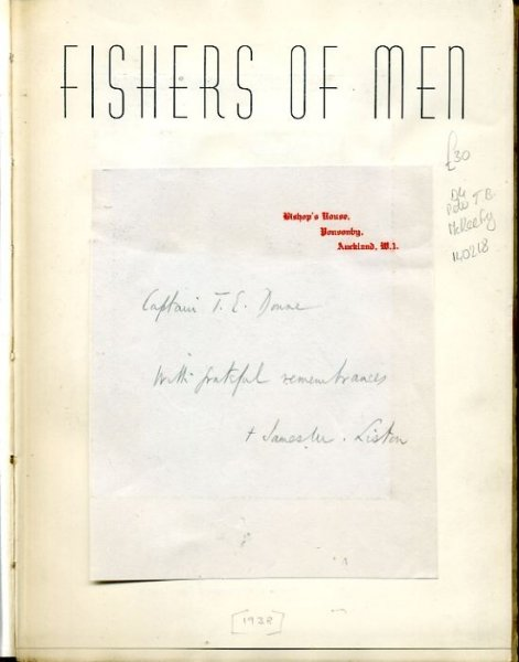 Image for FISHERS OF MEN