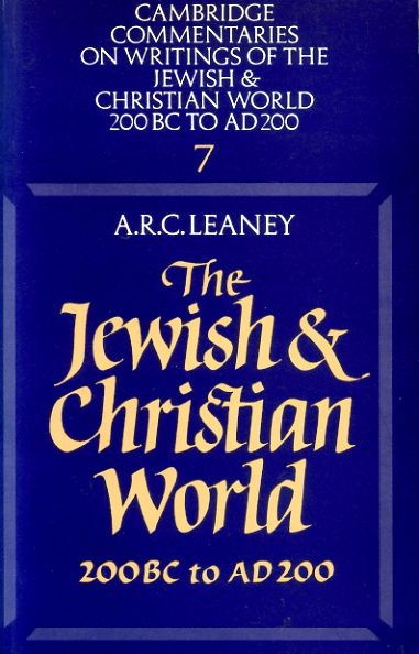 Image for THE JEWISH AND CHRISTIAN WORLD 200 BC to AD 200