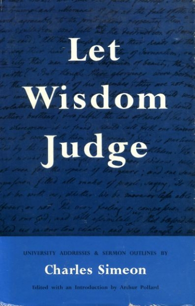 Image for LEST WISDOM JUDGE University Addresses & Sermon Outlines