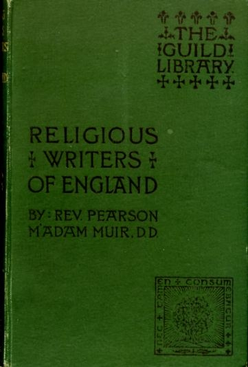 Image for RELIGIOUS WRITERS OF ENGLAND