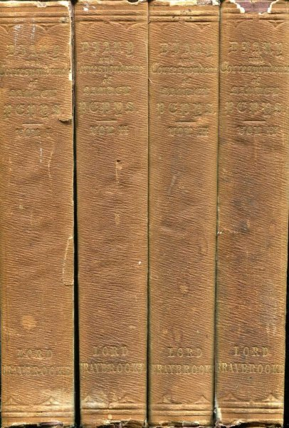 Image for DIARY AND CORRESPONDENCE OF SAMUEL PEPYS, F.R.S. Secretary to the Admiralty in the Reigns of Charles II and James I (four volumes)I
