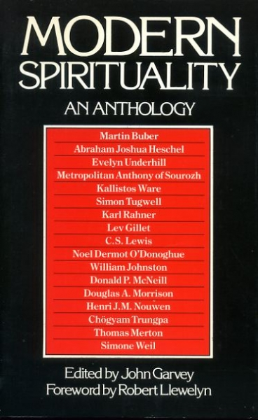 Image for MODERN SPIRITUALITY an anthology