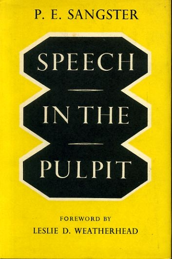 Image for SPEECH IN THE PULPIT