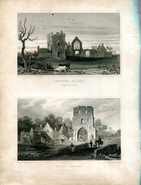 Image for WALES ILLUSTRATED IN A SERIES OF VIEWS comprising the picturesque scenery, towns, castles, seats of the nobility & gentry, Antiquities &c