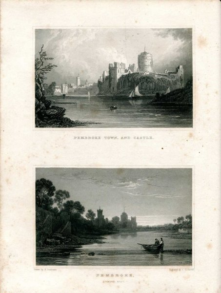 Image for SOUTH WALES ILLUSTRATED IN A SERIES OF VIEWS comprising the picturesque scenery, towns, castles, seats of the nobility & gentry, Antiquities &c (volume II of Wales Illustrated)