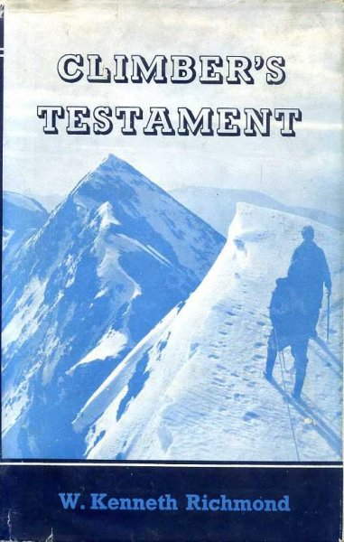Image for CLIMBER'S TESTAMENT