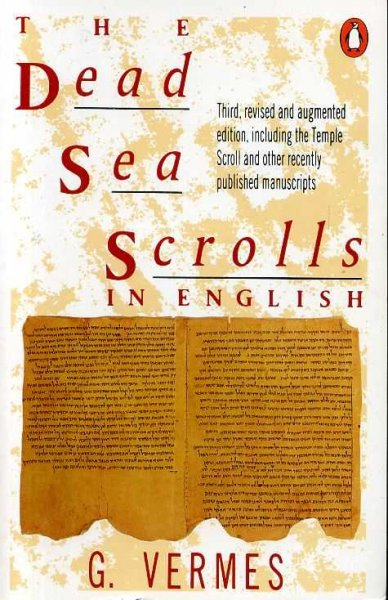 Image for THE DEAD SEA SCROLLS IN ENGLISH