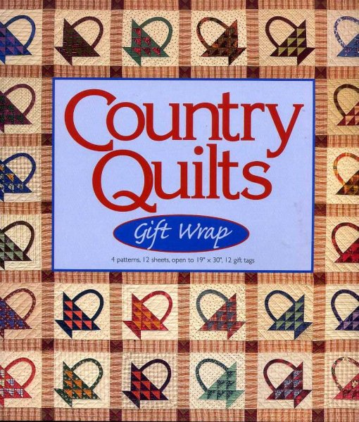 Image for COUNTRY QUILTS GIFT WRAP