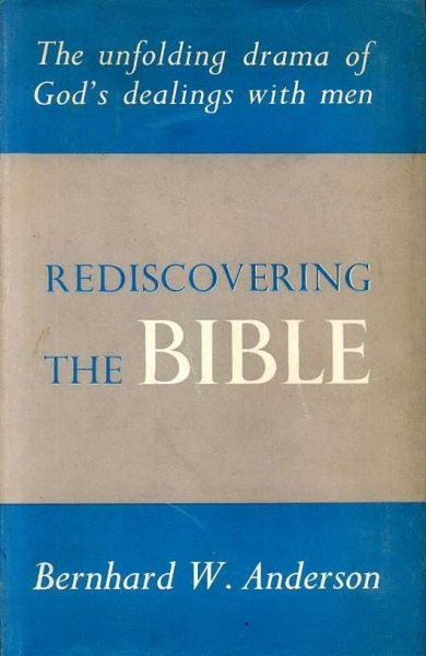 Image for REDISCOVERING THE BIBLE