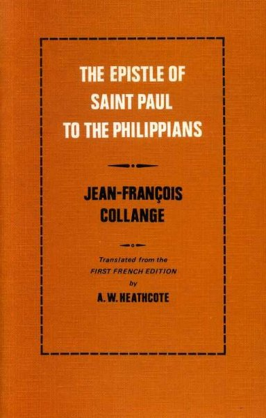 Image for THE EPISTLE OF SAINT PAUL TO THE PHILIPPIANS