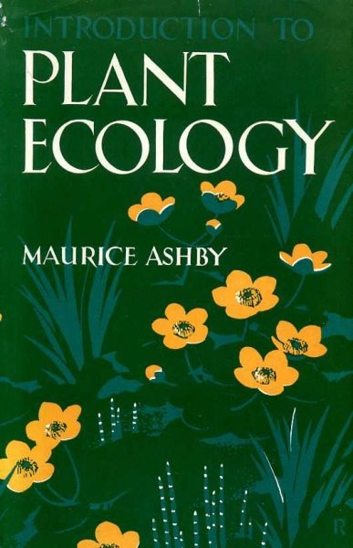 Image for INTRODUCTION TO PLANT ECOLOGY