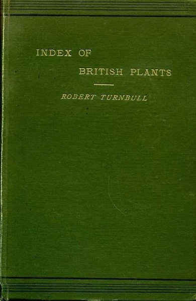 Image for INDEX OF BRITISH PLANTS according to the London Catalogue