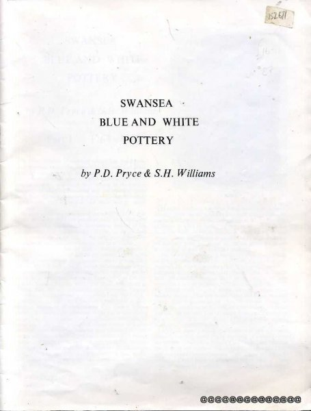 Image for SWANSEA BLUE AND WHITE POTTERY
