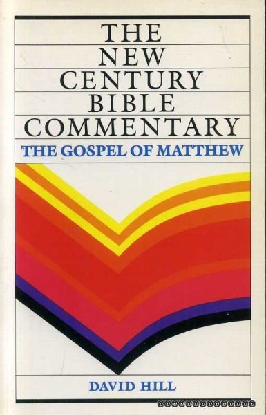Image for The Gospel of Matthew  (New Century Bible Commentary)