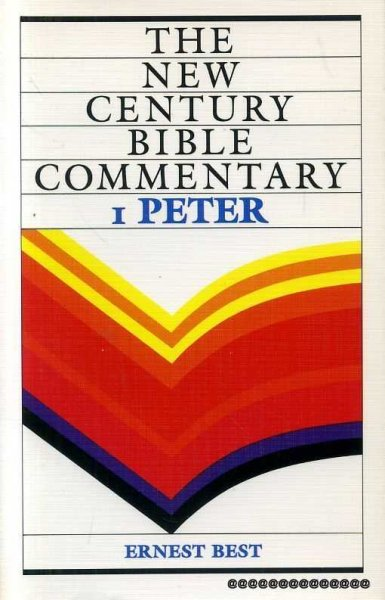 Image for 1 PETER (New Century Bible Commentary)