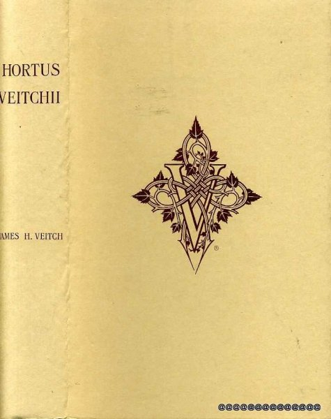 Image for HORTUS VEITCHII A History of the Rise and Progress of the Nurseries of Messrs James Veitch & Sons together with an account of the Botanical Collections and Hybridists employed by them......