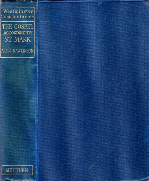 Image for ST MARK with introduction, commentary and additional notes (Westminster Commentaries)