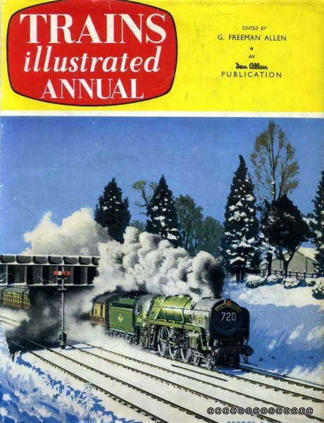 Image for Trains Illustrated Annual 1960