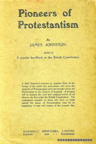 Image for PIONEERS OF PROTESTANTISM